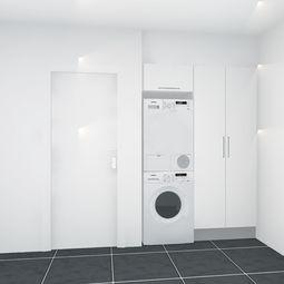 Fireværelses rækkehus på 110 m2 i to plan