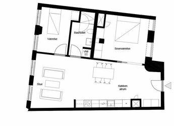 Bo på Strøget i en fantastisk 3 værelses