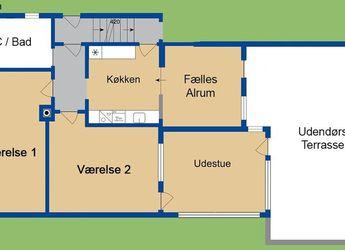 4700 1 vær. lejlighed, 20 m2, Ringstedgade