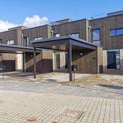 Nybygget liebhaverbolig i første parket til Vejle Fjord