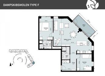 Dampskibsmolen 4 st.tv., 5800 Nyborg