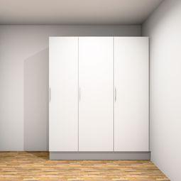 Treværelses lejlighed i stuen eller på 1. sal