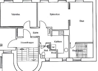 3 værelses midt i Aarhus