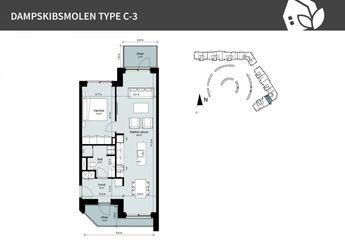 Dampskibsmolen 4 st.th., 5800 Nyborg