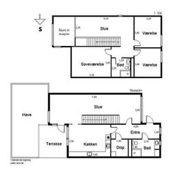 2760 andelsbolig, 5 vær. hus, 118 m2