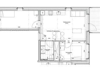3-værelses med udsigt