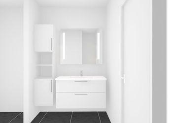 Femværelses lejlighed i to plan