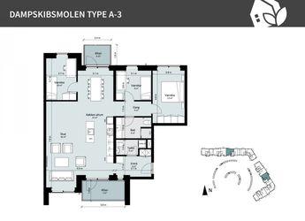 Dampskibsmolen 12 2.th, 5800 Nyborg