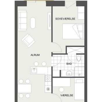 Kamma Klitgårds Gade 45, 2. 4., 8240 Risskov