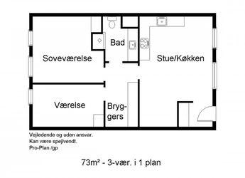 Svalegangen 17, 1. sal th., 9380 Vestbjerg