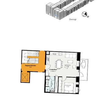 Robert Jacobsens Vej 40A, 1. 2., Kalvebod huse, 2300 København S