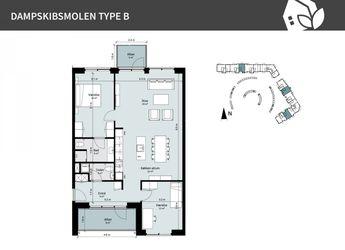 Dampskibsmolen 2 st.tv., 5800 Nyborg