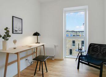 Delevenlig lejlighed med stue