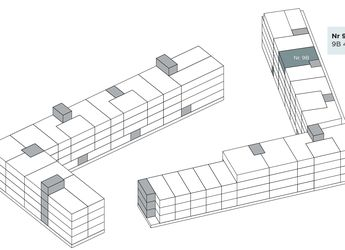 Treværelses lejlighed med altan
