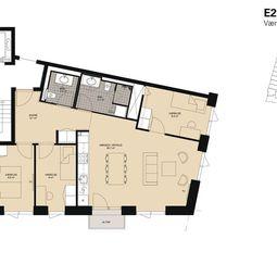 Skøn 3-værelses lejlighed på Slusen
