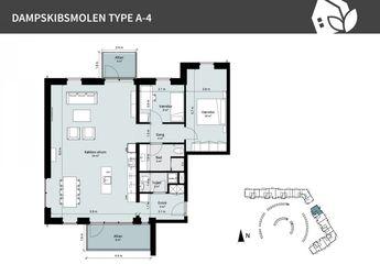 Dampskibsmolen 8 1.th., 5800 Nyborg