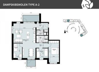 Dampskibsmolen 14 1.th, 5800 Nyborg