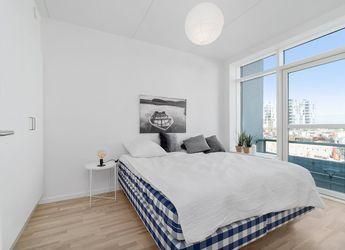 Lækre3-værelses lejligheder på Havneholmen i Aarhus Ø.